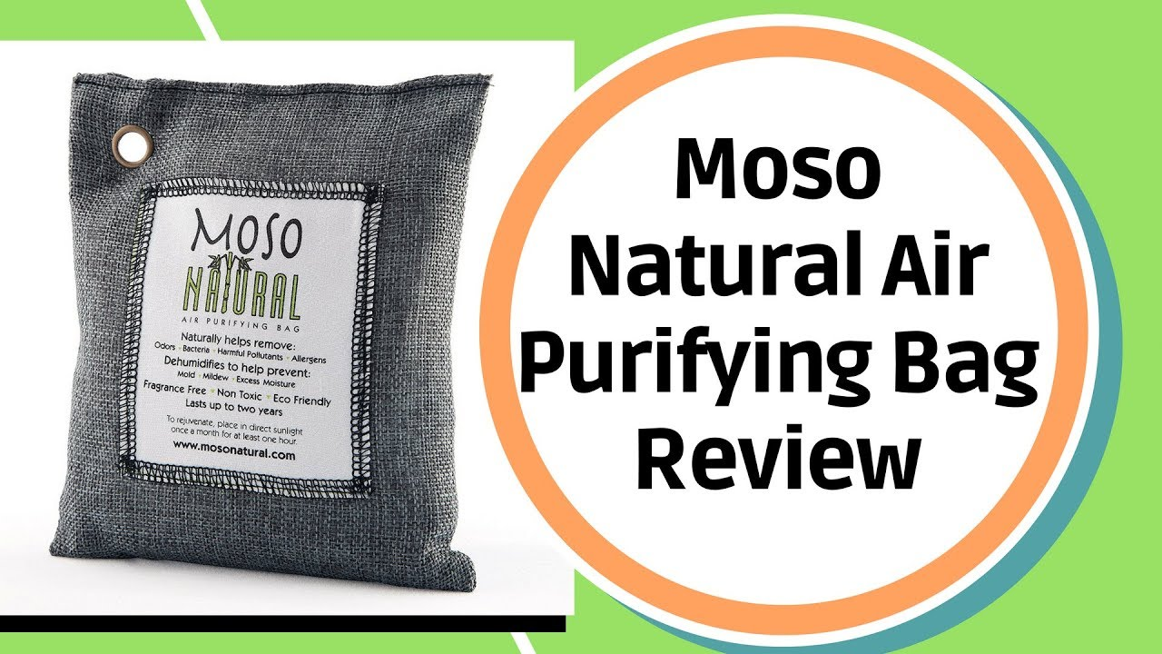 Moso Natural Air Purifying Bag Odor Eliminator For Cars Closets Bathrooms And Pet Areas