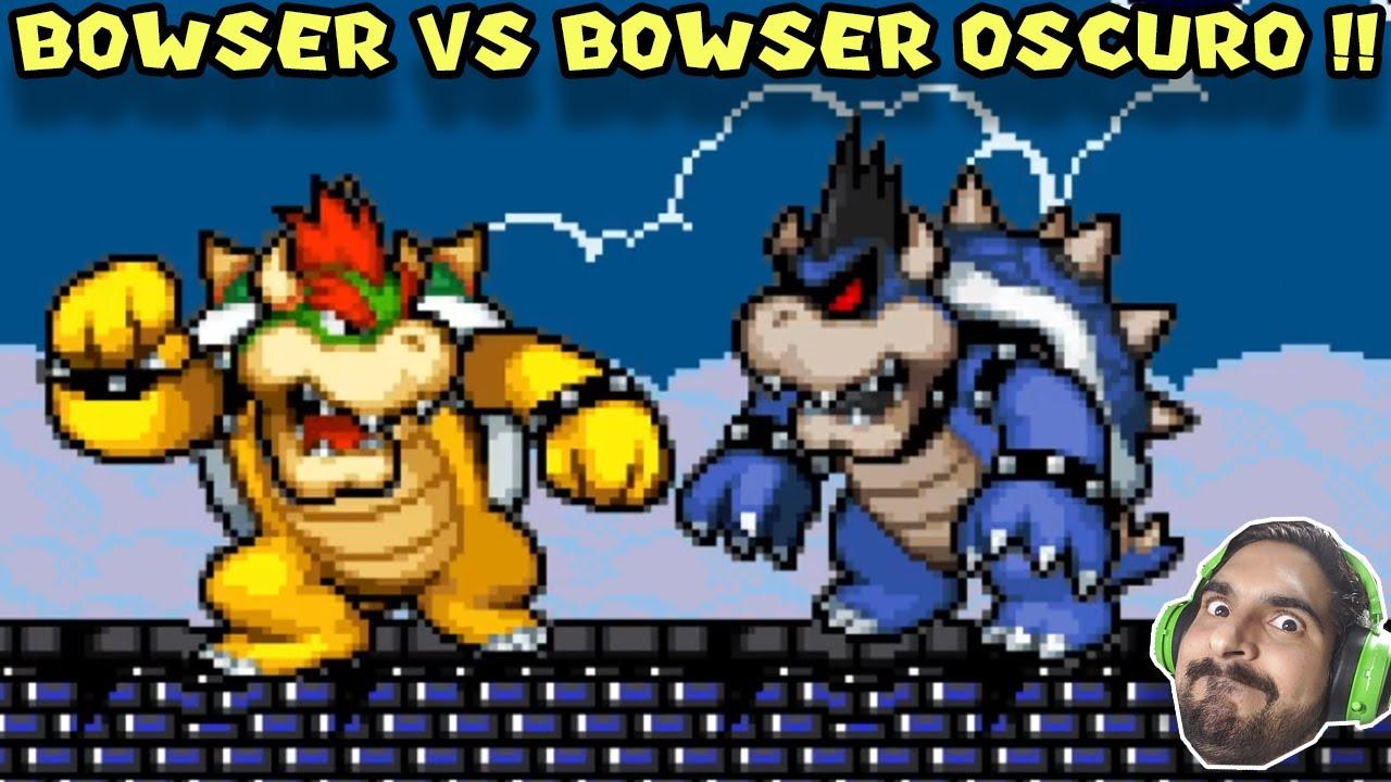 BOWSER VS BOWSER OSCURO !! - Super Bowser World con Pepe el Mago (#8)