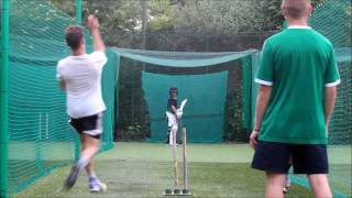 2016 13 year old brother cricket nets