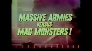 Destroy All Monsters 1969 TV trailer