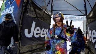 GoPro: Kaya Turski Ski Slopestyle Course Preview – Winter X Games 2013 Tignes