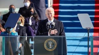 Joe Biden delivers first remarks as president of the U.S.