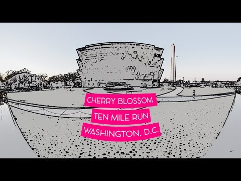 Credit Union Cherry Blossom Ten Mile Run VR 360 Video 2017