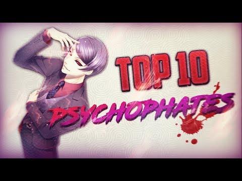 TOP 10 des plus grands Psychopathes dans les MANGA/ANIME