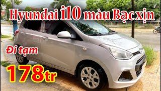 Hyundai i10 2014 màu Bạc zin giá 178tr | Việt Bắc Car