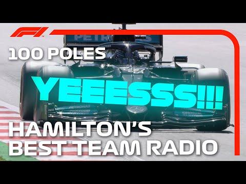 Lewis Hamilton's Best Pole Position Team Radio Messages!