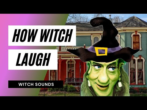 Witch's Laugh - Sound Effect - Animation