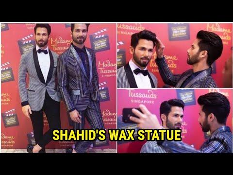Shahid Kapoor UNVEILS his wax statue at Madame Tussauds | Mira Kapoor | Singapore Mp3
