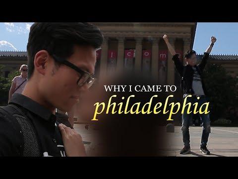 Why I am in Philadelphia.