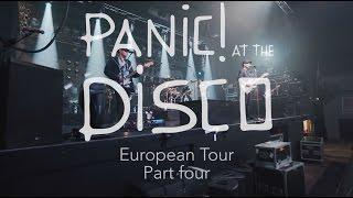 Panic! At The Disco - European Tour (Week 4 Recap)