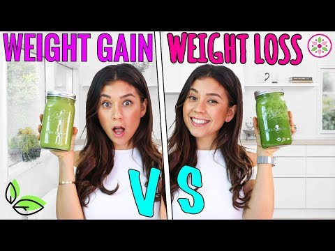 WEIGHT GAIN VS. WEIGHT LOSS SMOOTHIE!🌿Rawvana