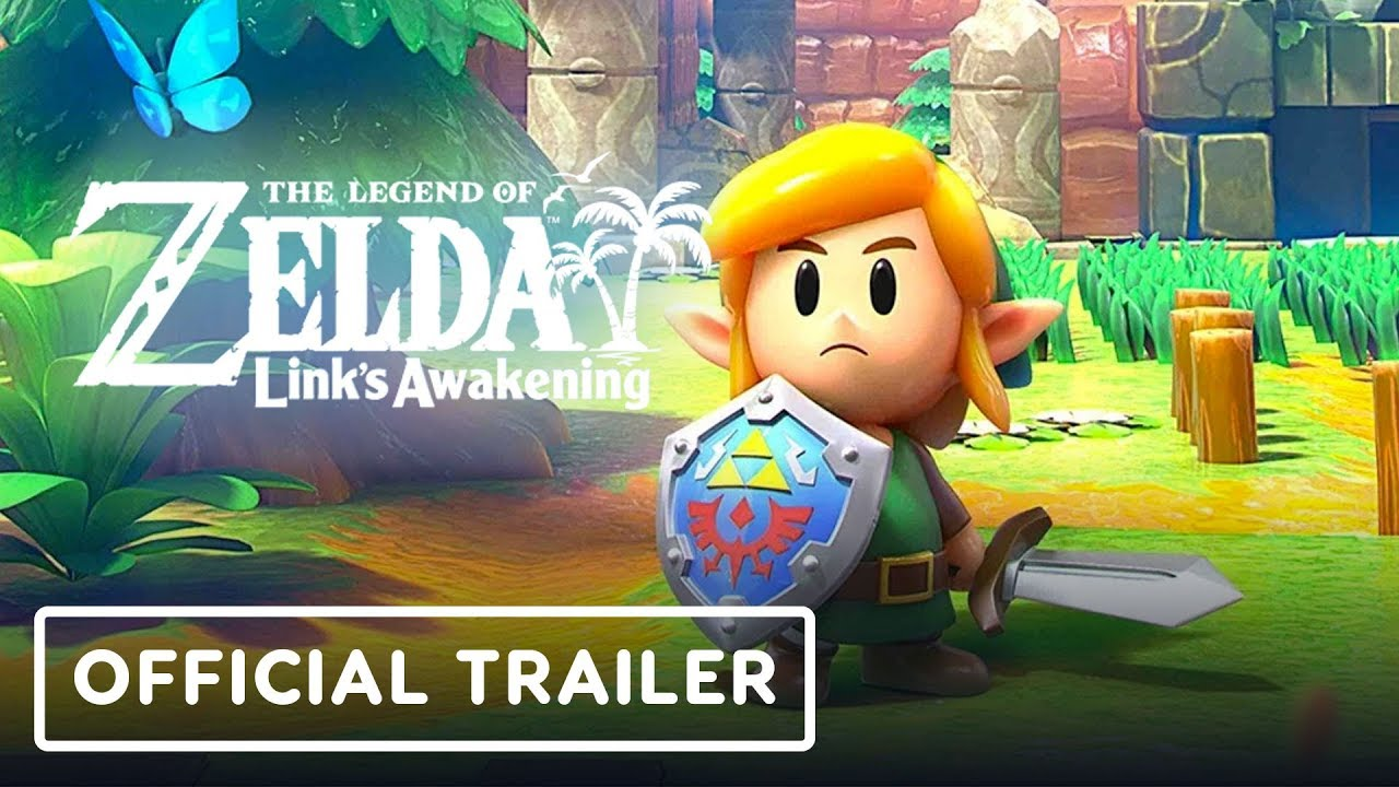 The Legend of Zelda: Link's Awakening Official Overview Trailer thumbnail