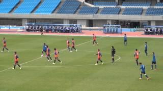 2015年2月21日 川崎 VS 新潟 5分鈴木武蔵・6分加藤大ゴール