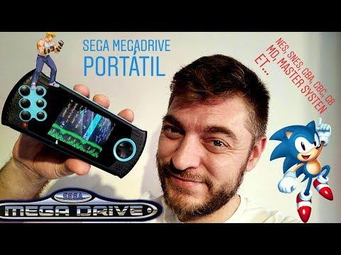 MEGA DRIVE CLASSIC PORTATIL, Sega mega drive portatil, Genesis thumbnail