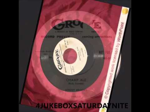 SONNY BROOKS & GROUP - CHAMP ALE - GROOVE 4G-0027 - 1954