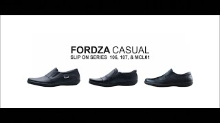 Sepatu Casual Pria Kulit asli formal santai Slip On simpel 108 HT