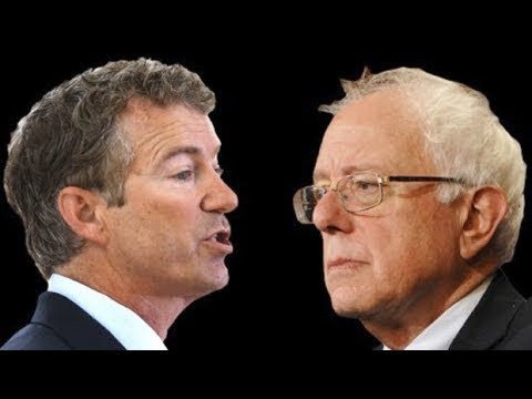 Bernie Sanders and Rand Paul Buck Party Consensus on Russia and Iran Sanctions