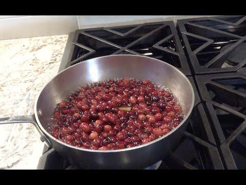 Angela's Cranberry Sauce