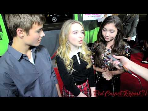 "Cast of ""Girl Meets World""  at the #VampireAcademy Los Angeles Premiere @rowblanchard @peytonmeyer9"