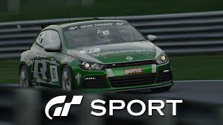 Gran Turismo Sport Closed Beta - VW Scirocco Gr.4 @ Brands Hatch [1080P 60fps]