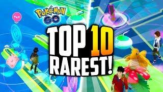 Pokemon Go - The TOP 10 RAREST Pokemon Go Sightings! (WORLD'S BEST INCENSE SPAWN...)