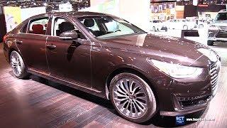 2018 Genesis G90 5.0 Htrac - Exterior and  Interior Walkaround - 2018 Chicago Auto Show