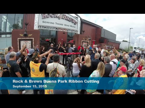 Rock & Brews Buena Park Ribbon Cutting