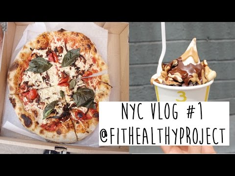 WHAT A VEGAN EATS IN NEW YORK | VLOG #1