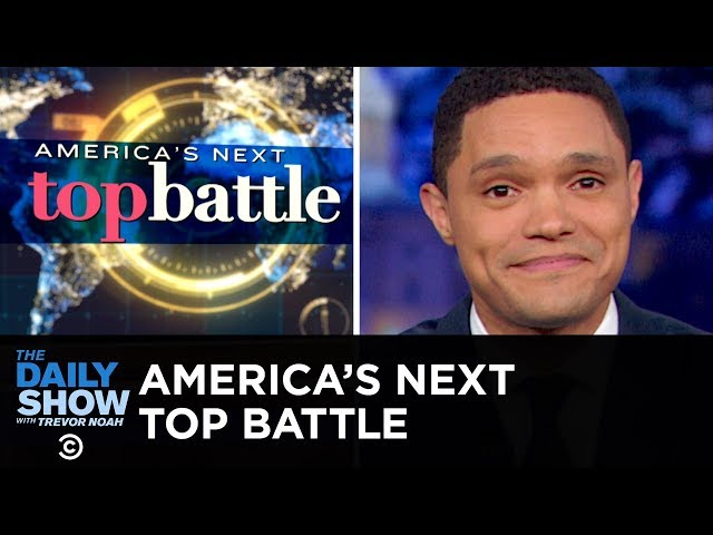 Iran, Venezuela and China: Finalists for America's Next Top Battle | The Daily Show