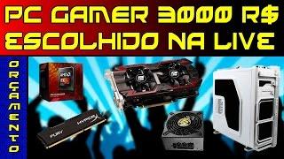 MONTANDO PC GAMER ESCOLHA DA GALERA (EXCELENTE CONFIG)
