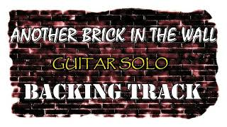 Another brick in the wall - Guitar Solo - Studio Backing Track