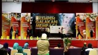 tarian chammak challo- malam penutupan kempen galakan membaca Pkk 2012