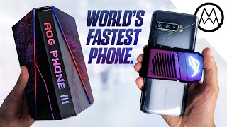 Asus ROG Phone 3 UNBOXING - World's Fastest Phone.