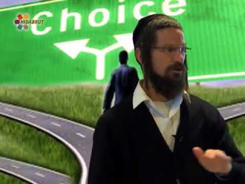 Free Will! The 5 Ways of Mastering - Rabbi Yom Tov Glaser MOST AMAZING MUST WATCH!