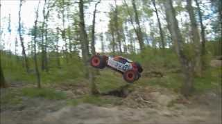 kyosho axxe recorded with go pro