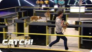 3, 2, 1, Fass! - Luke wird von Hundemeute gejagt - CATCH! Die Deutsche Meisterschaft im Fangen
