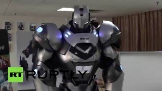 прототип «Железного человека» показали в Китае