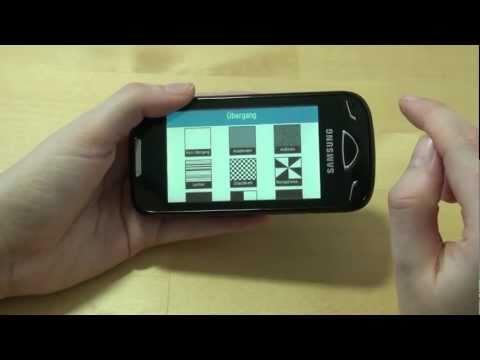 Samsung GT-B7722i Test Multimedia
