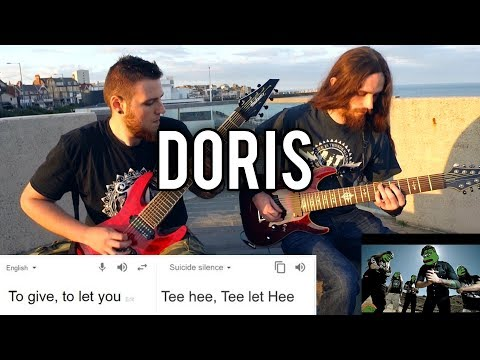 Suicide Silence - Doris   Guitar / Vocal Cover