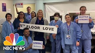 Seattle Hospital Takes Innovative Steps To Keep Staff And Patients Safe | NBC News NOW