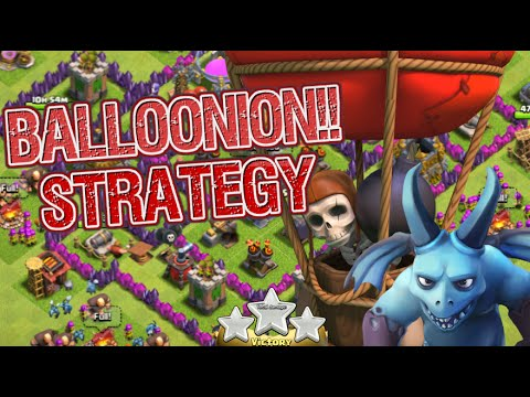 Clash of Clans   3-Star TH7 Attack Strategy Balloons and Minions