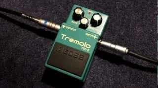 Boss Tremolo TR-2 Demo