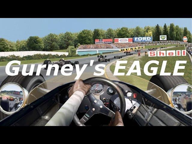 Gurney's Eagle - Grand Prix Legends