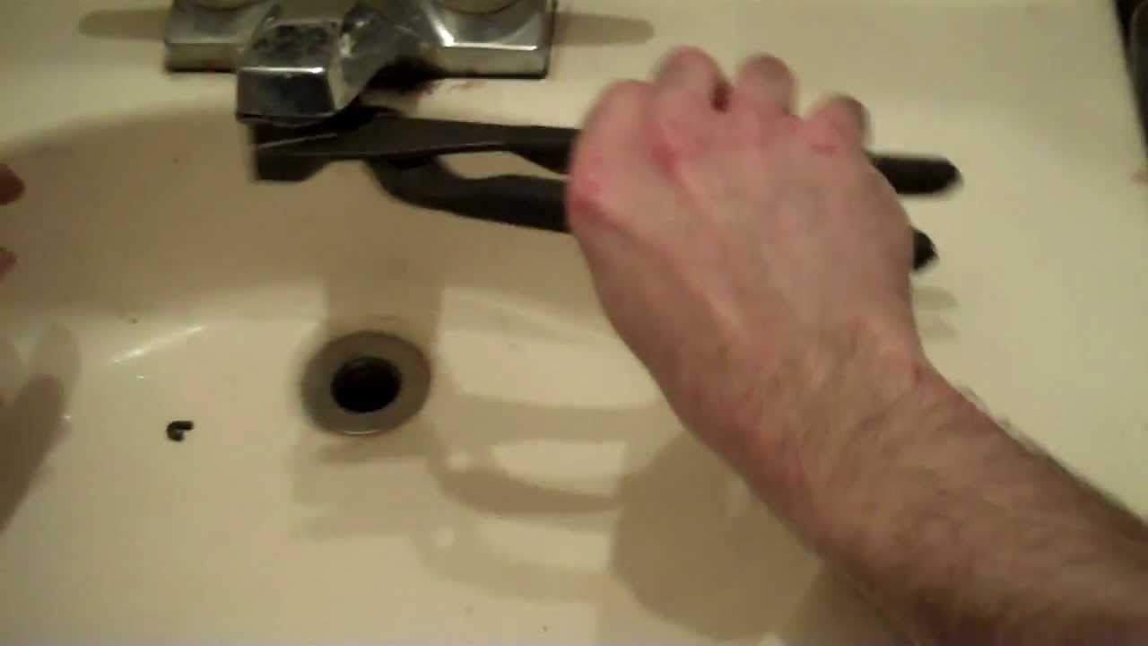 How To Clean A Clogged Faucet Head - YouTube