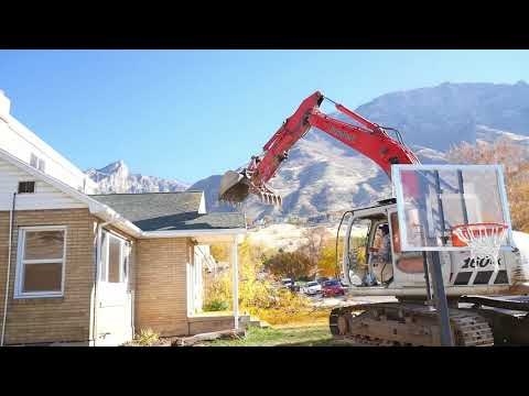 Youngblood House Demolition