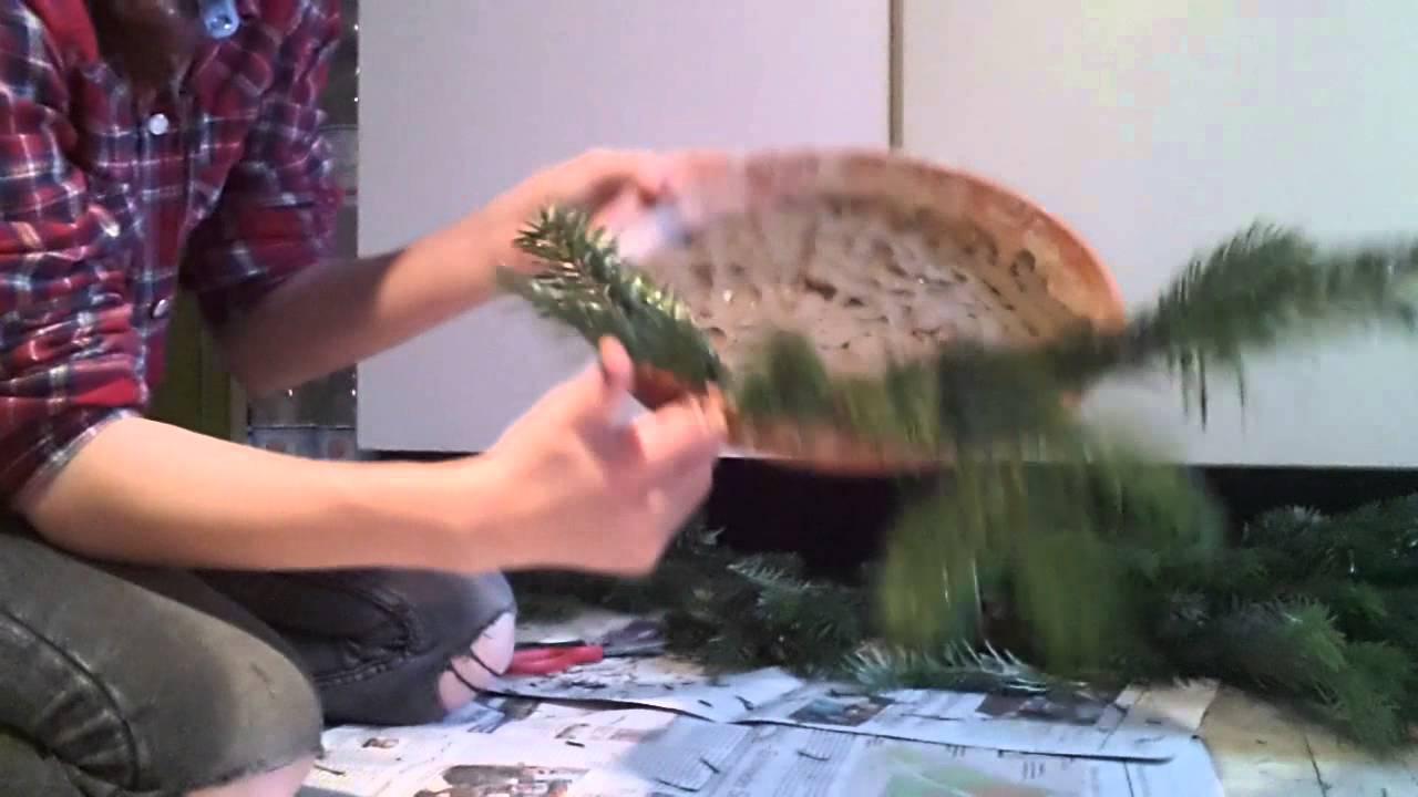Gestecke ganz einfach selber machen youtube for Gestecke fa r weihnachten selber machen