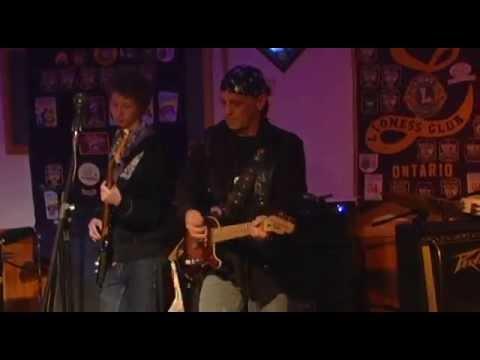 Washago Xmas Jam Crew 2014 with Shawn Rosseau Live!