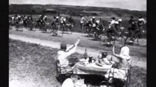 Le Tour de France en chansons dans les années 50 .
