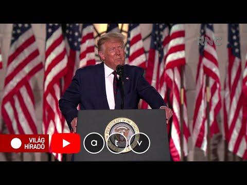Hivatalosan is elfogadta Donald Trump a Republikánus Párt elnök-jelöltségét thumbnail
