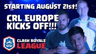 Clash Royale League: Europe Season Kickoff Preview!